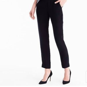 Jcrew pull-on easy pant in matte crepe